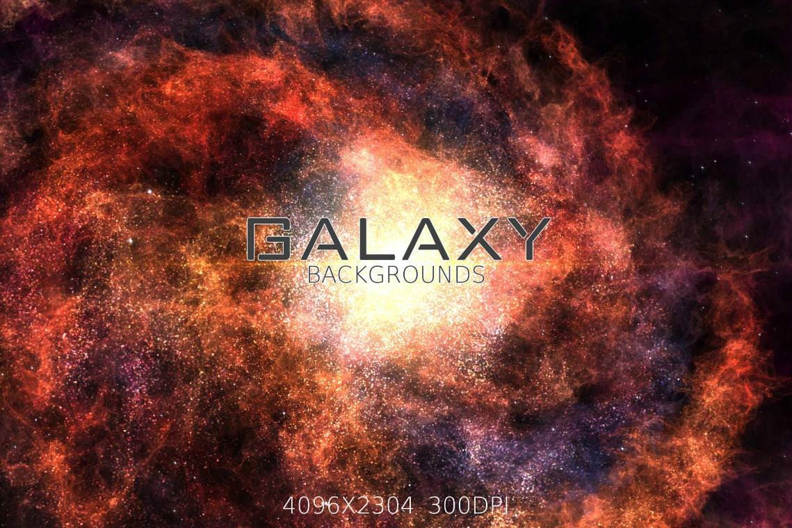 6种银河系效果纹理背景