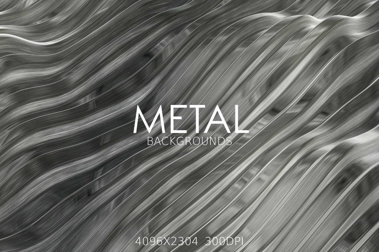 7种金属质感纹理效果纹理背景