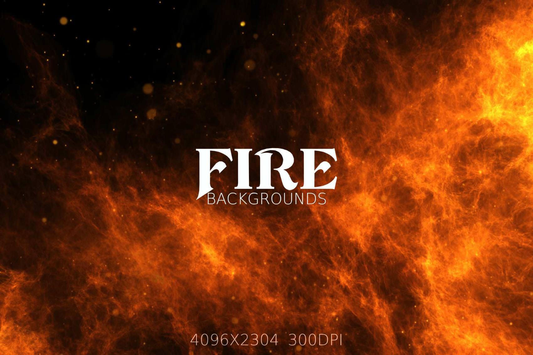 6种火焰效果纹理背景