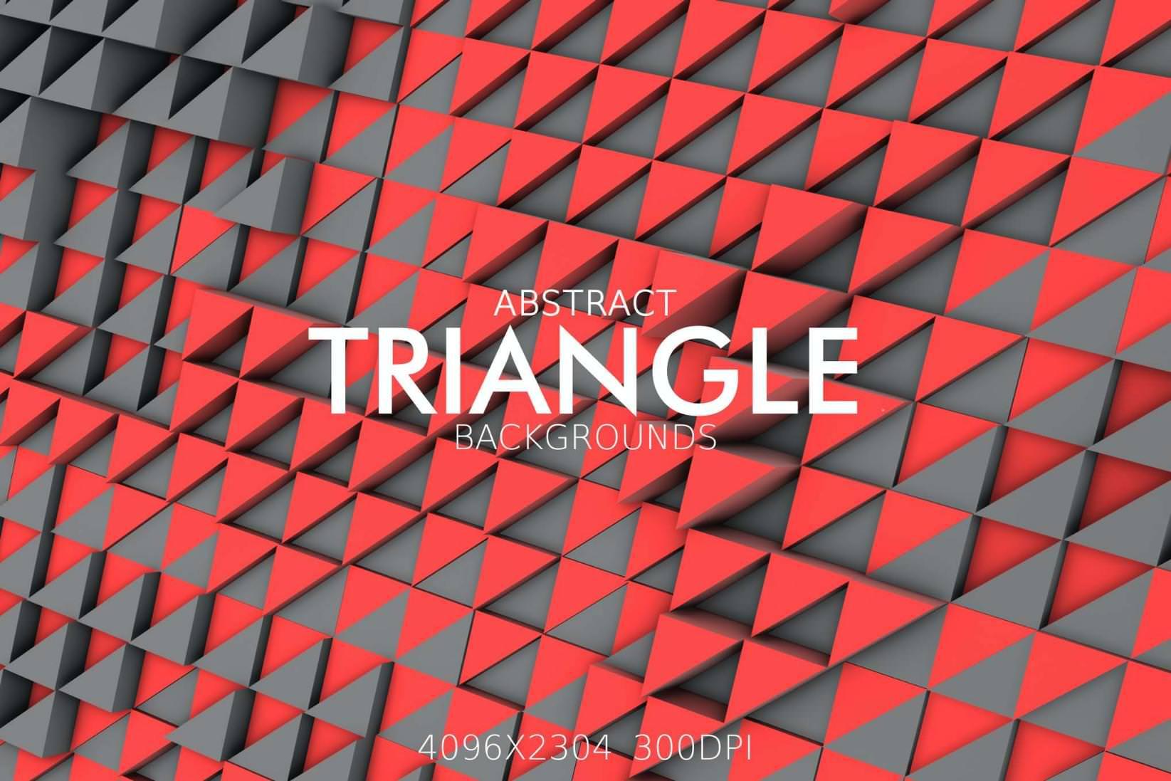 9种立体三角形效果纹理背景