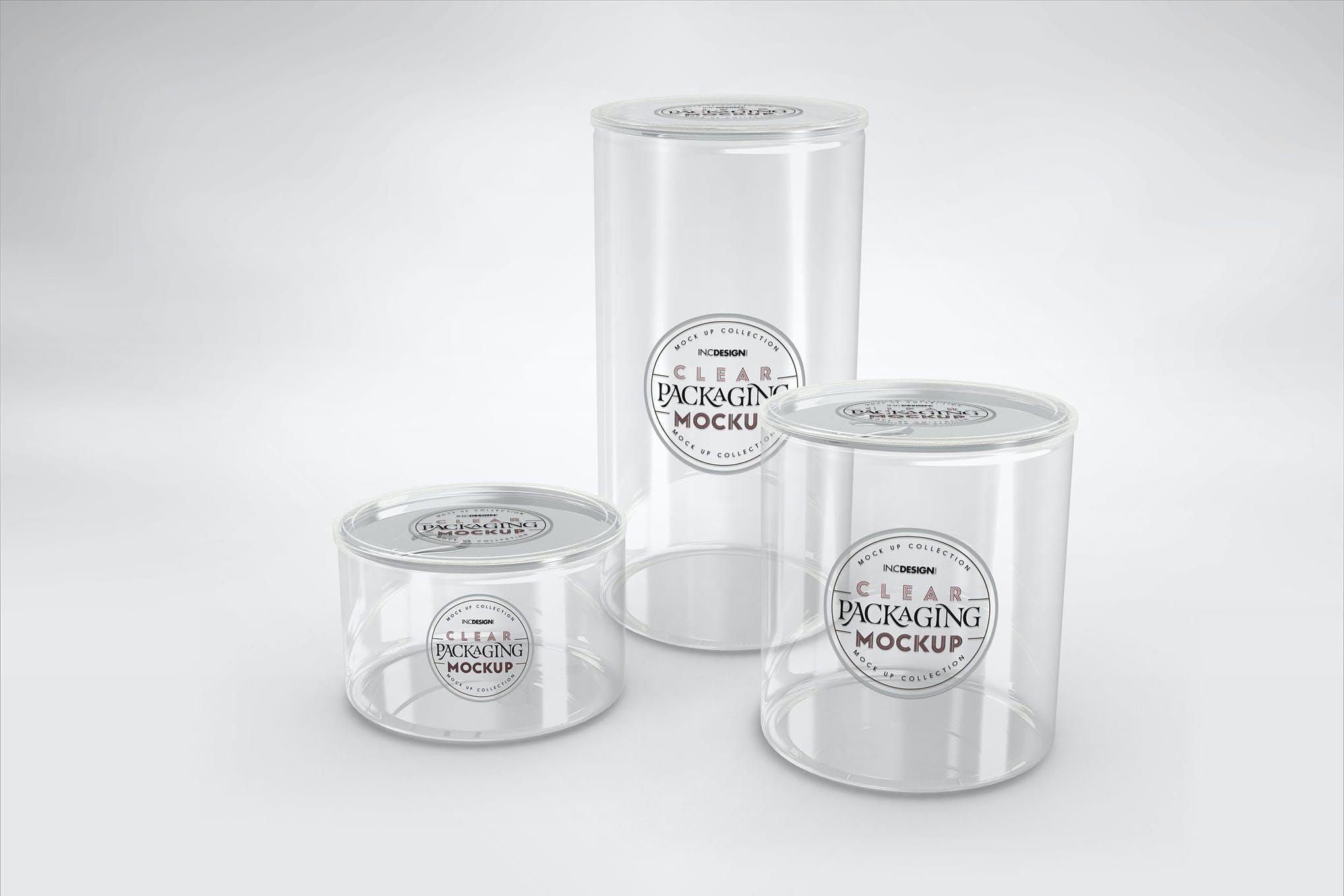透明塑料圆形包装盒