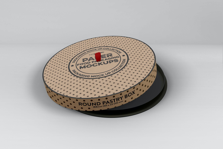 圆形蛋糕纸质包装盒