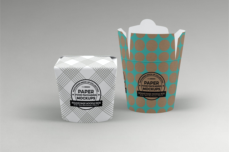 主食炒饭炒面外带纸盒