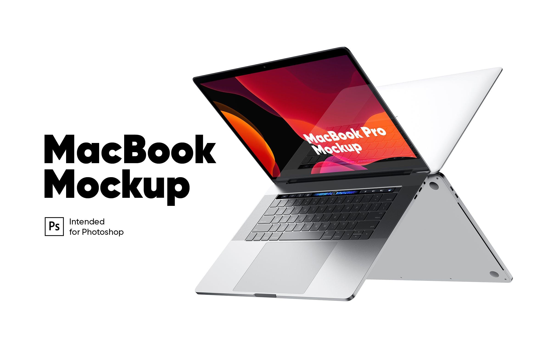 2台对着放的macbook pro