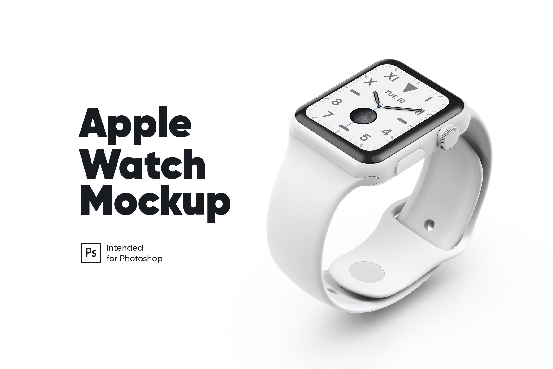 白色陶瓷质地苹果手表