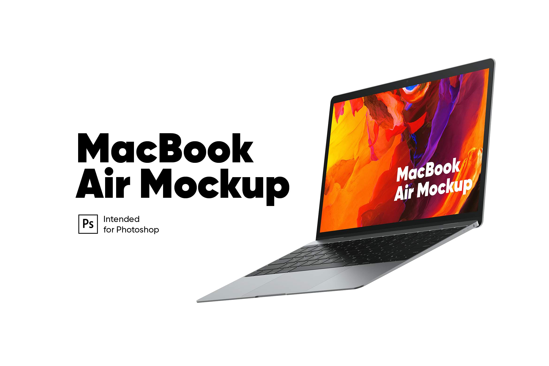 打开的macbook air