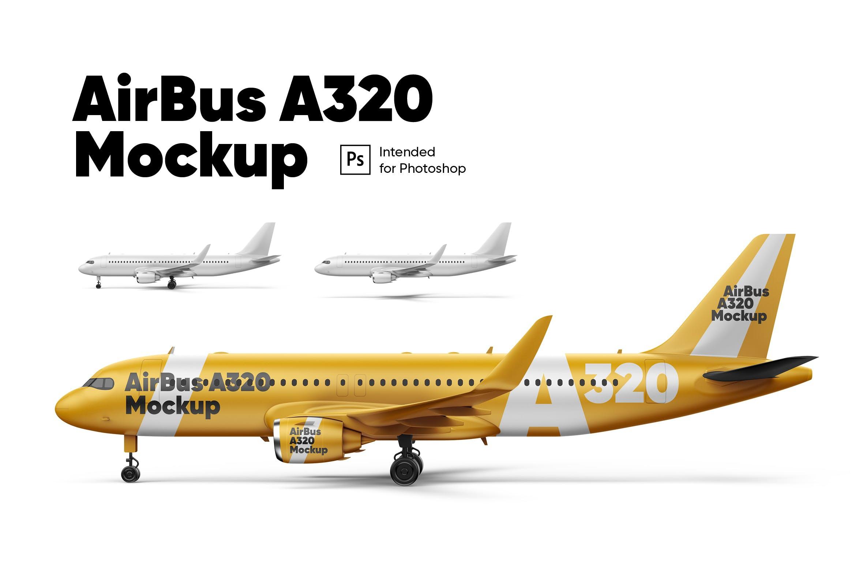 A320飞机侧面
