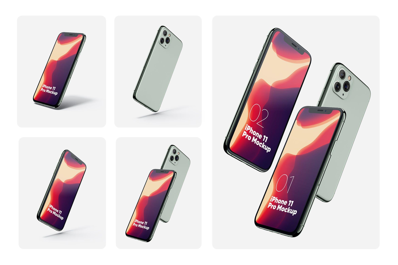 iphone 11 pro多角度
