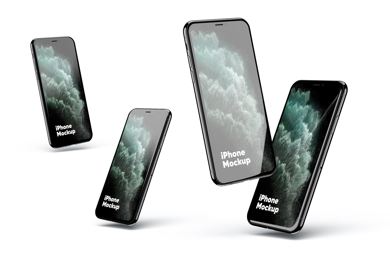 iphone 11多角度展示