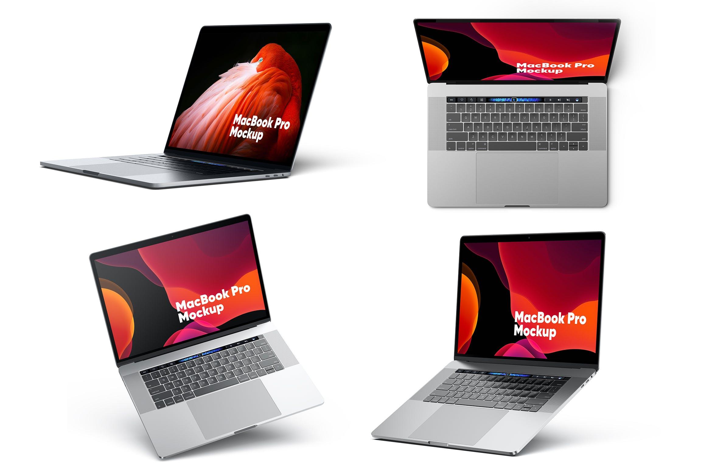 macbook pro多角度展示