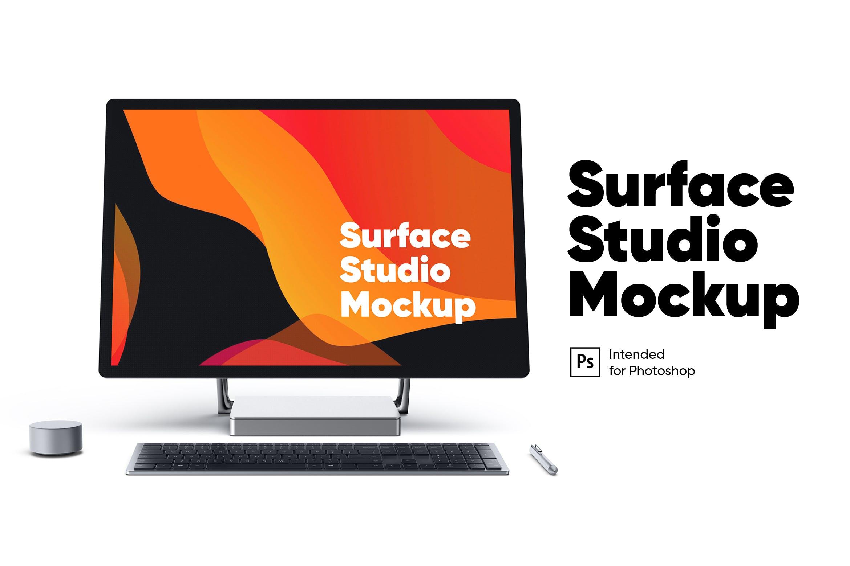 surface studio正面展示