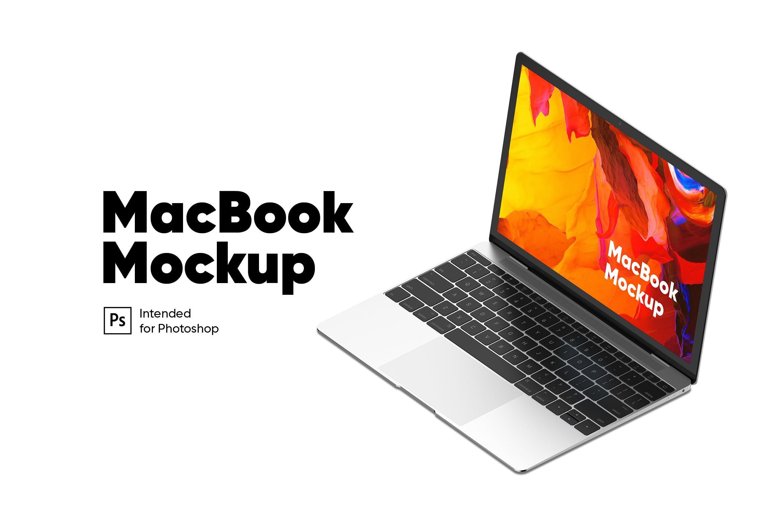 macbook侧面展示